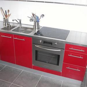 cuisine professionnelle inox pour particulier. Black Bedroom Furniture Sets. Home Design Ideas