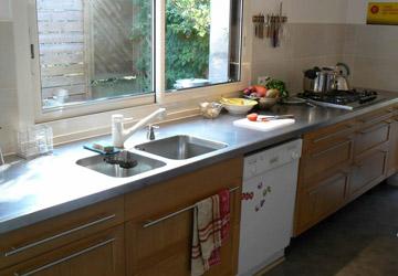 plan de travail inox pour cuisine. Black Bedroom Furniture Sets. Home Design Ideas